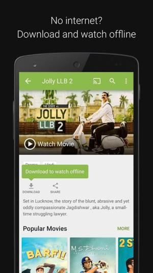 Android Hotstar Live TV Screen 2