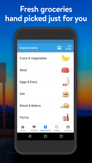 Walmart Grocery 5.2.0 Screen 2