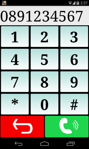 Launcher, Seniors Phone 1.14 Screen 5