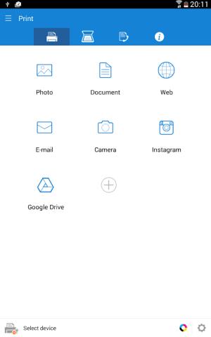 Samsung Mobile Print 4.08.013 Screen 9