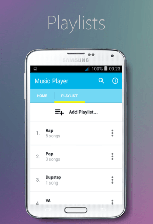 Music Player 1.0 Screen 2