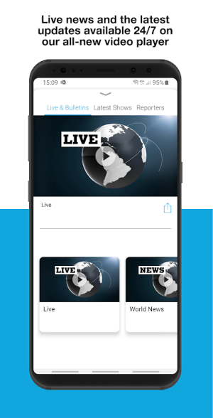 FRANCE 24 - Live international news 24/7 4.1.0 Screen 3