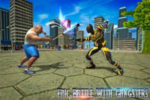 Superhero Panther Flying City Survival 1.0 Screen 5