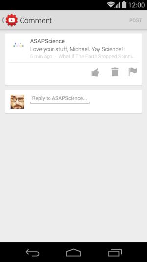YouTube Creator Studio 1.5.3.0 Screen 4