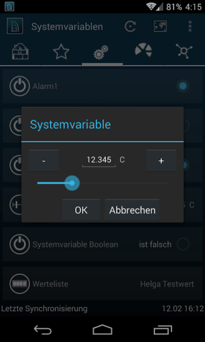 TinyMatic - HomeMatic for your pocket! 2.15.0 Screen 4