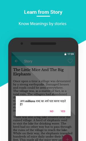 Hindi English Translation, English Speaking Course 1.8 Screen 9