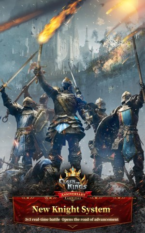 Clash of Kings : Newly Presented Knight System 6.11.0 Screen 5