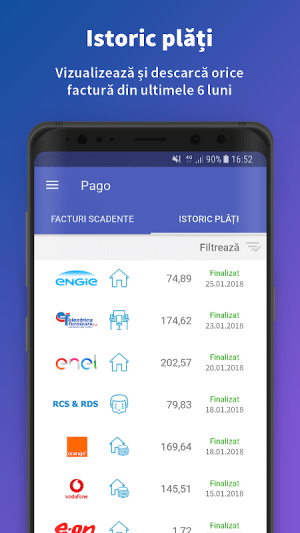 Pago 1.8.2 Screen 1