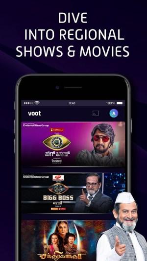 Voot Select Originals, Bigg Boss, MTV, Colors TV 4.0.7 Screen 2