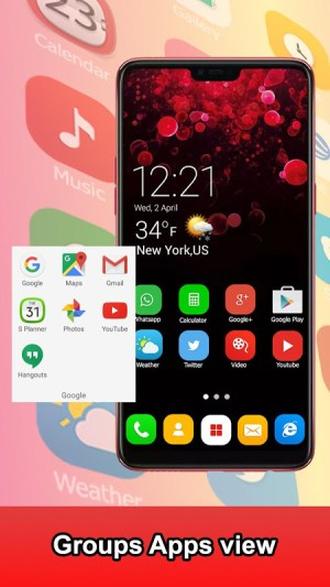 Launcher Themes for Galaxy S Duos 1.0 Screen 4