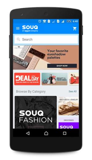 Android Souq.com Screen 6