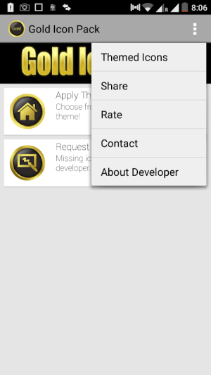 Gold Icon Pack 1.0.10 Screen 1