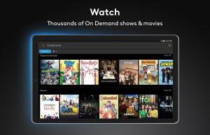 Android Xfinity Stream Screen 2