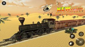 Android Train Robbery shooting game: Gold Robbery Crime Screen 3