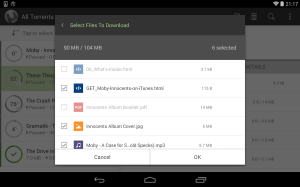 µTorrent® Pro - Torrent App 6.1.8 Screen 6