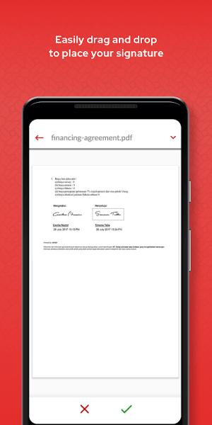 PrivyID - Digital Signature 4.2.6 Screen 3