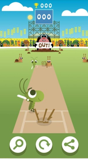 Android Doodle Cricket - Cricket Game Screen 1