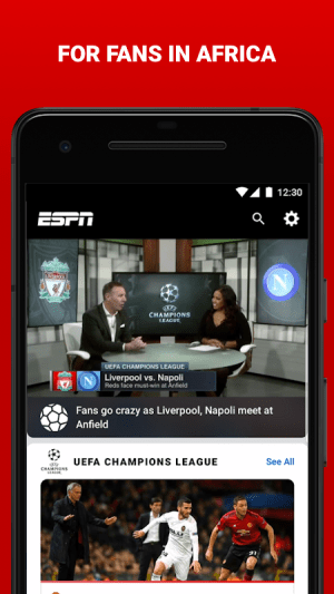 Android ESPN Screen 4