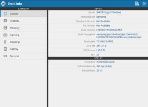 Droid Hardware Info 1.2.2 Screen 11