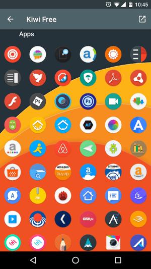 Android Kiwi UI Free Screen 3