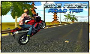 Android Bike Rider Road Trip Screen 1