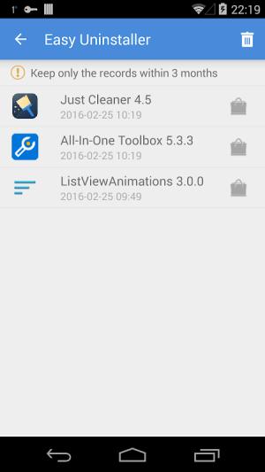 Easy Uninstaller App Uninstall 3.3.5 Screen 2
