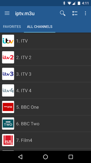 IPTV Pro 3.8.1 Screen 4