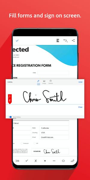 Adobe Acrobat Reader: PDF Viewer, Editor & Creator 20.3.0.12688 Screen 12