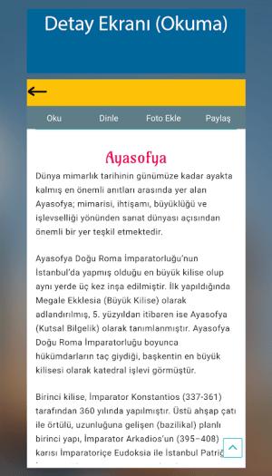 Sesli Gezi Rehberi 4.4 Screen 4