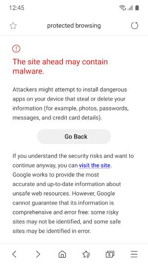 Samsung Internet Browser Beta 9.2.00.70 Screen 7