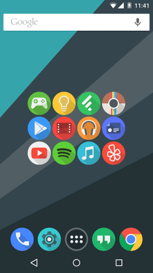 Android Click UI - Icon Pack Screen 4