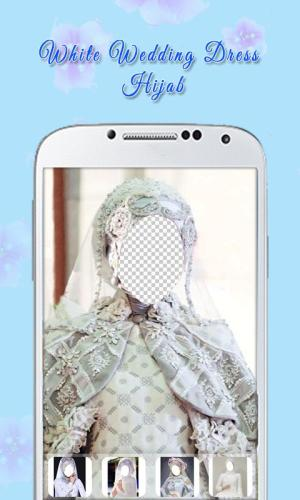 White Wedding Dress Hijab 1.3 Screen 5