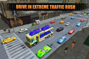 US Police City Car Transport Truck 3D 1.0 Screen 4