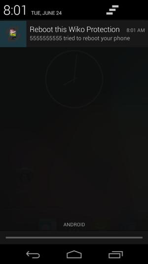 (No) Reboot this Wiko 2.0 Screen 2