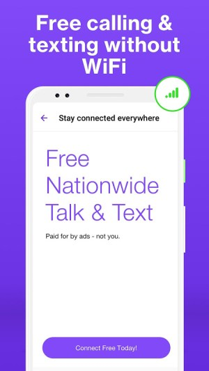 Android TextNow - Free US Phone Number Screen 3