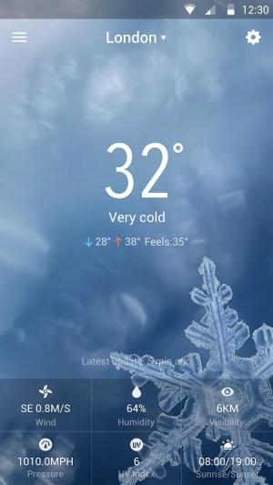 Sense Flip Clock & Weather 8.3.2.1058_release Screen 7