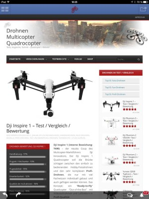 Android Drohnen Quadcopter Multicopter Screen 5