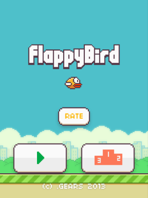 Flappy Bird 1.3 Screen 1