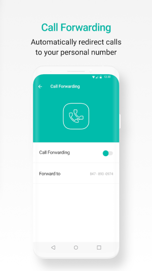 Android 2ndLine - US Phone Number Screen 2
