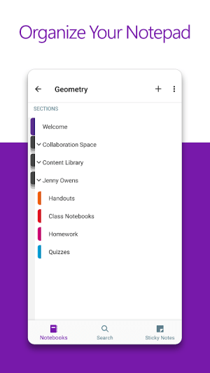 Microsoft OneNote: Save Ideas and Organize Notes 16.0.13628.20140 Screen 4