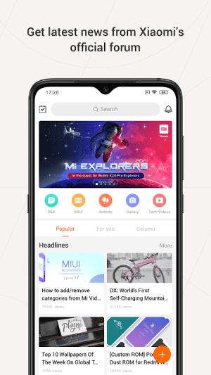 Mi Community - Xiaomi Forum 5.0.4 Screen 2
