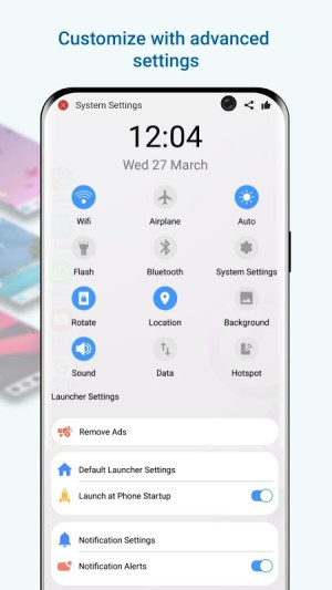 Launcher  Galaxy S10 Style 3.9 Screen 6
