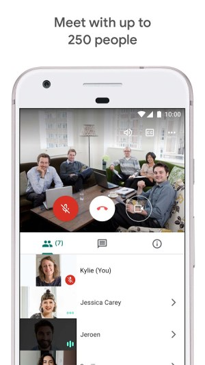 Google Meet – Secure video meetings 2021.04.18.369492438.Release Screen 9