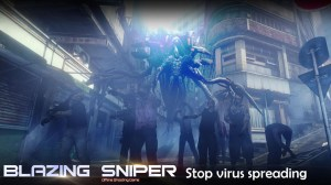 Android Blazing Sniper - offline shooting game Screen 2