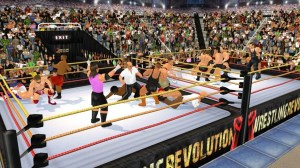 Android Wrestling Revolution 3D Screen 18