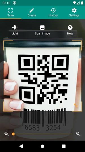 QR & Barcode Reader 2.6.9-L Screen 2