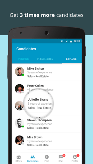 CornerJob - Job offers, Recruitment, Job Search 1.6.3 Screen 6