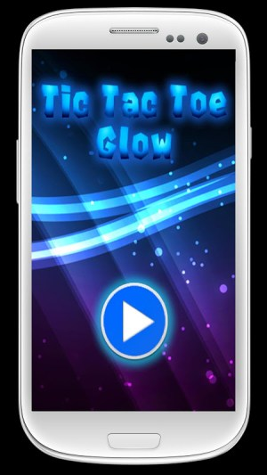 Tic Tac Toe Glow 1.0.0 Screen 1