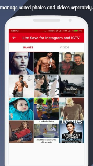 Lite Save for Instagram and IGTV 1.9 Screen 2
