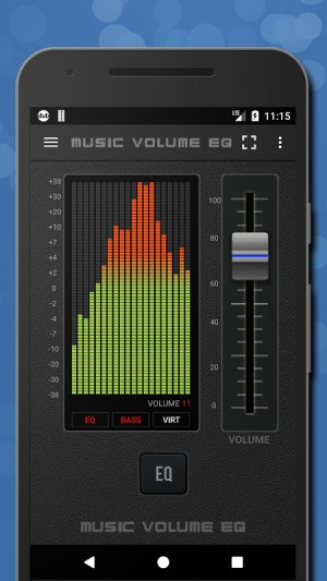 Music Volume EQ — Equalizer Bass Booster Amplifier 4.81c Screen 4